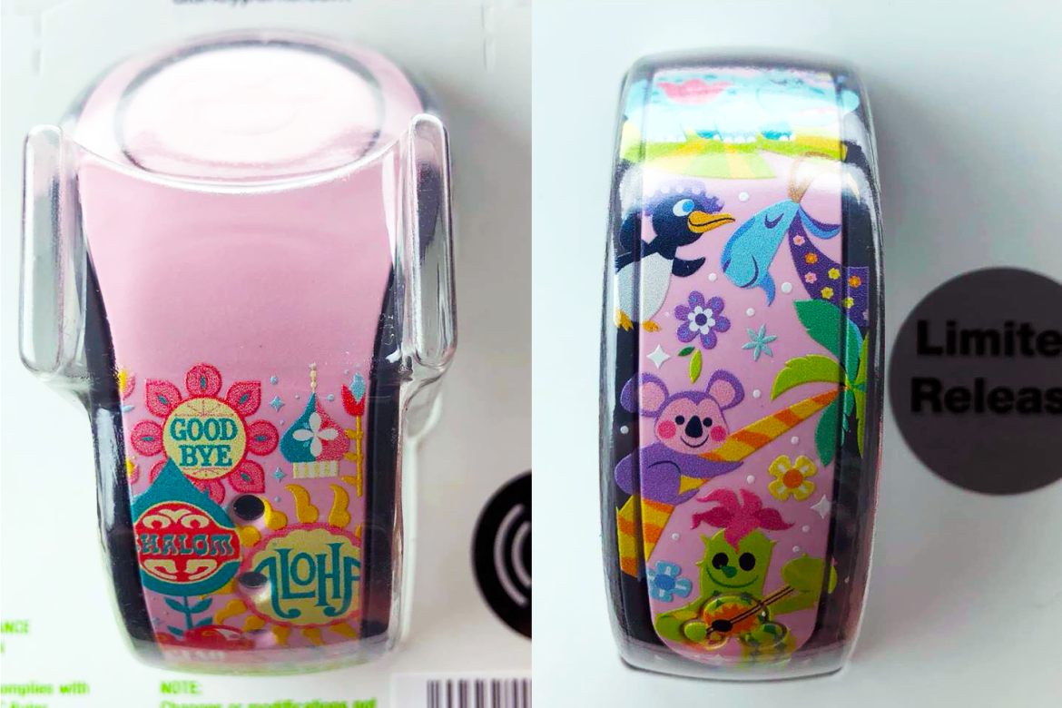 There's An it's a small world MagicBand, And It's Fabulous