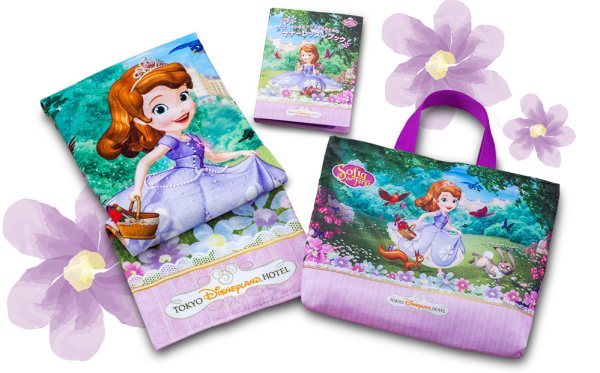 Sofia the First Themed Hotel Rooms Coming to Tokyo Disney Resort 3