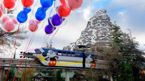New Mickey Mouse Monorail at Disneyland Resort!