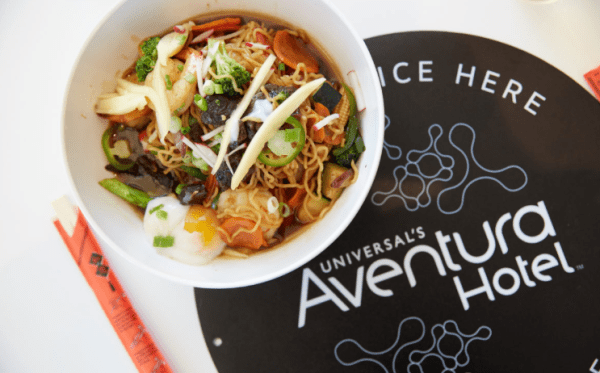 Tasty Menus at Universal's Aventura Hotel Pack a Big Punch