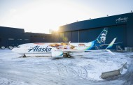 Captain Marvel Takes Flight With Alaska Airlines