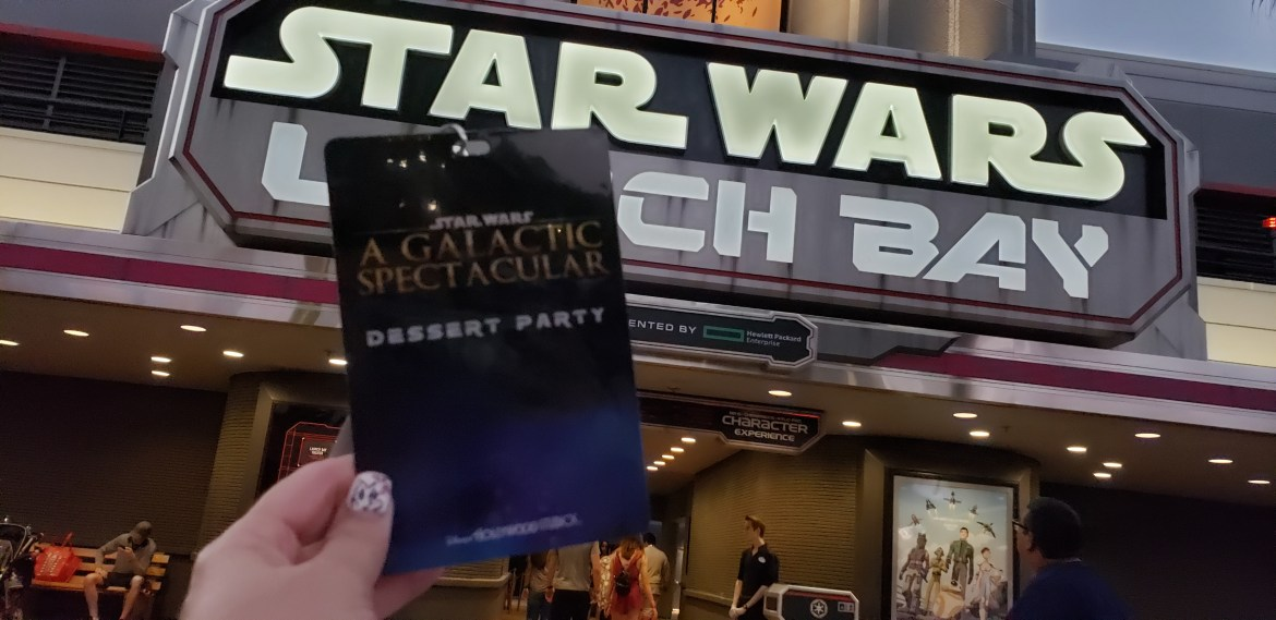 Star Wars Galactic Spectacular Dessert Party Review