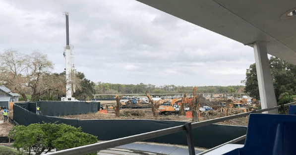 Tron Construction Continues to Progress