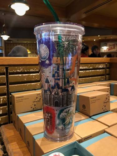 Magical New Starbucks Disney Parks Tumblers Have Been Spotted 2