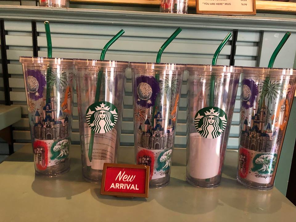 Magical New Starbucks Disney Parks Tumblers Have Been Spotted