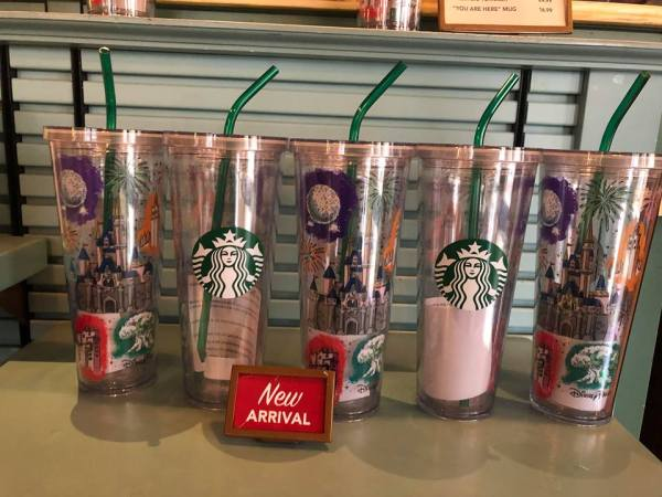 Magical New Starbucks Disney Parks Tumblers Have Been Spotted 1