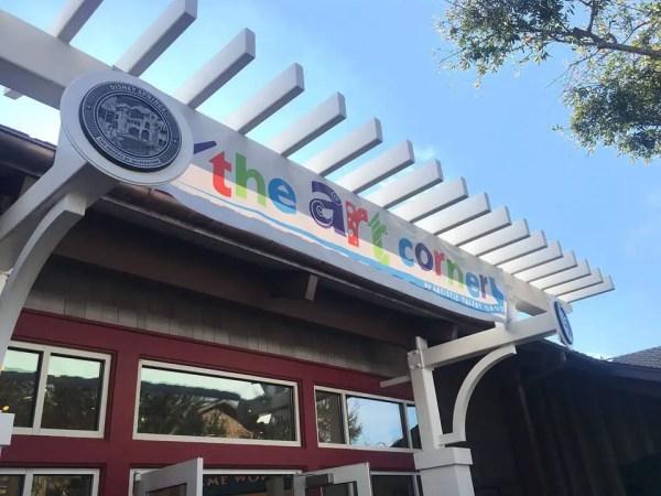 The Art Corner Open at Disney Springs