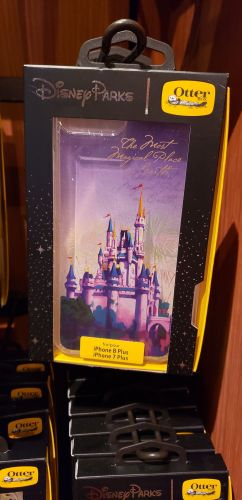 Enchanting New Cinderella Castle Phone Case From OtterBox 2