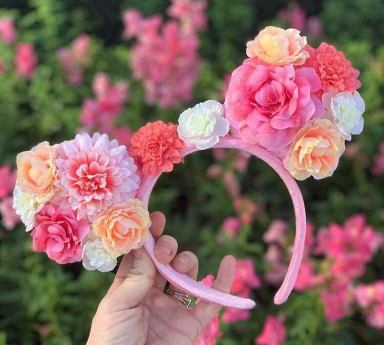 New Floral Minnie Mouse Ears Have Us Dreaming Of Spring
