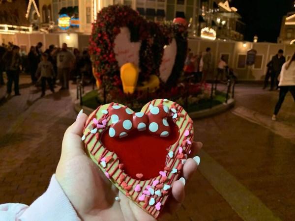 Linzer Cookie Valentine's Day