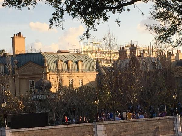 Construction at the France Pavilion Continues to Progress