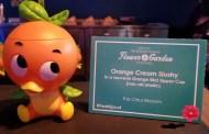 New Orange Bird Sipper With Orange Cream Slushy