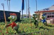 Sneak Peek Of The Flower and Garden Topiaries For 2019