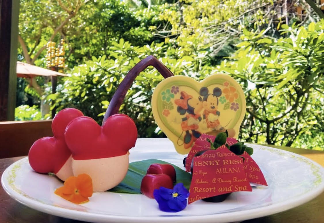 Special Treat Available On Valentine's Day For Guests Staying At Aulani