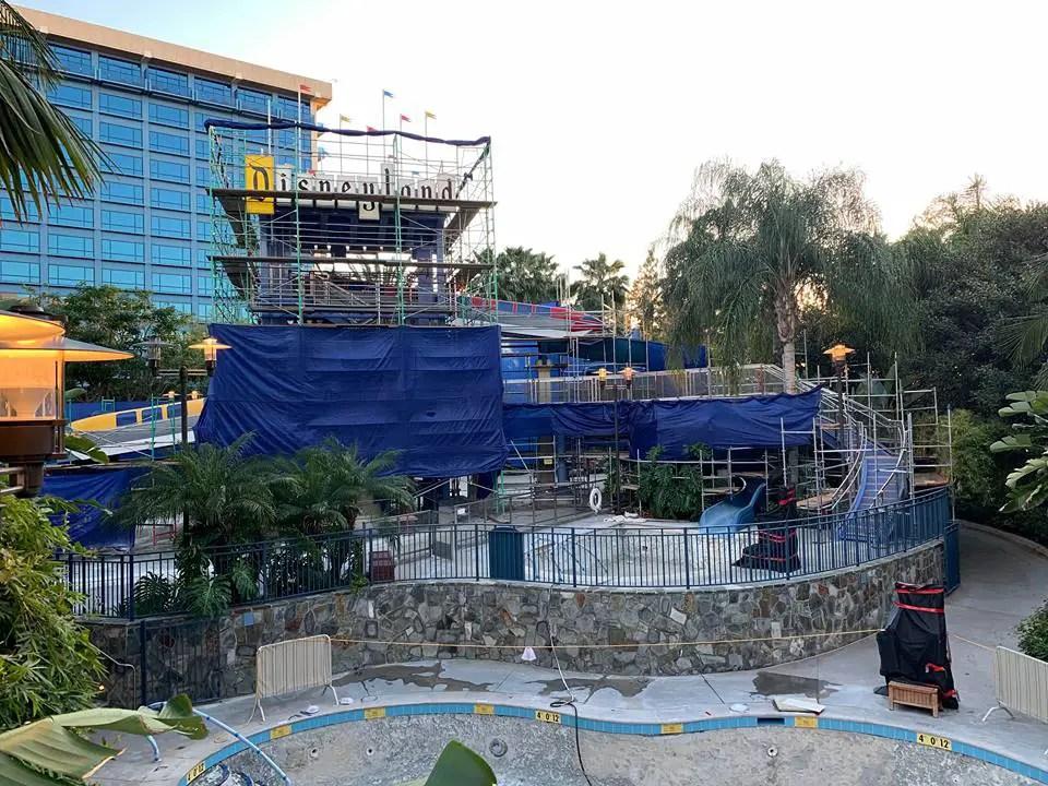 Disneyland April Refurbishments and Closures