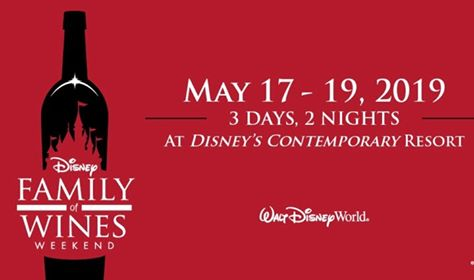 Special Limited Time runDisney Offer and Disney Family of Wines Weekend Event Information