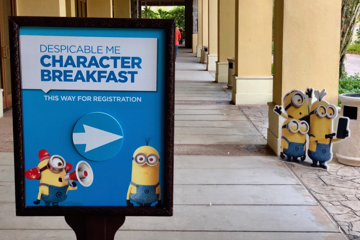 An Inside Look at the Despicable Me Character Breakfast at Universal Orlando