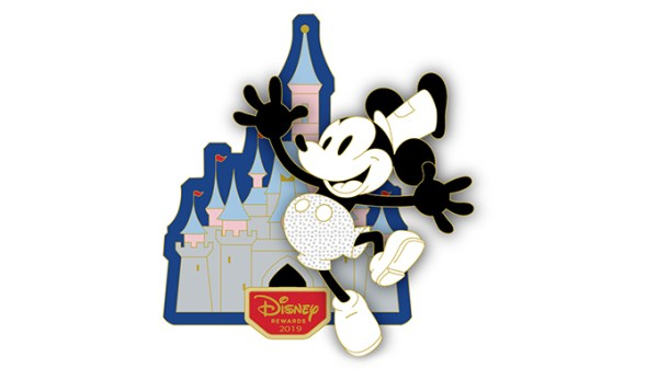 Mickey Mouse Steamboat Willie Pin Exclusively For Disney Visa Card Members 1
