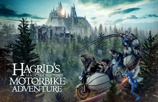 Opening Date Announced for Hagrid's Magical Creatures Motorbike Adventure, Universal Orlando's Newest Coaster