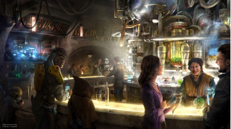 Alcoholic Beverages From Oga's Cantina Must Be Consumed on the Premises