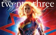 Captain Marvel on the Cover of the New Disney Twenty-Three