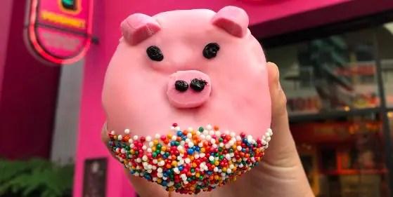 Year Of The Pig Doughnut At Universal Studios Hollywood