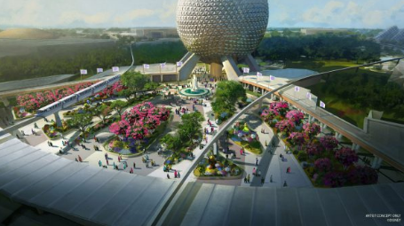 NEW First-of-its-Kind Play Pavilion and New Park Entrance Coming to Epcot