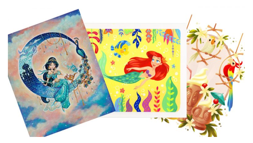 This February Come to WonderGround Gallery in Downtown Disney to Meet the Artists