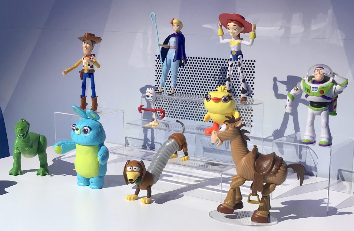 Toy Story 4 Toys Coming Soon from Mattel