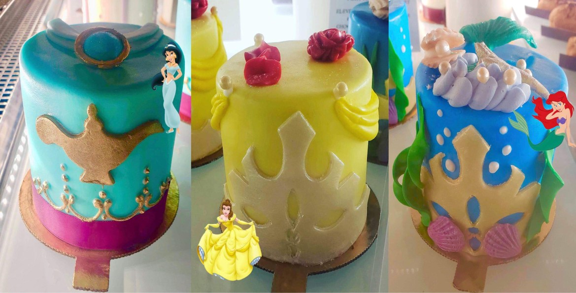 Marathon Weekend Only: Princess Petit Cakes at Amorette's Patisserie