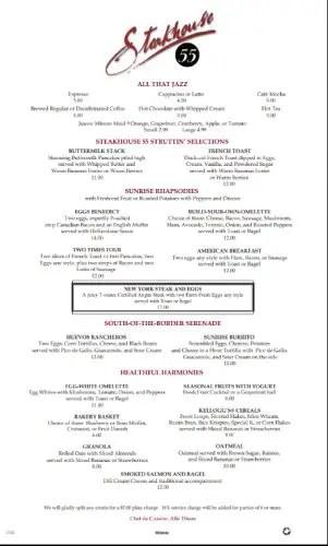 Is Steakhouse 55 the Best Kept Breakfast Secret?