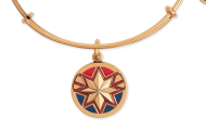 Heroic New Captain Marvel Bangle From Alex and Ani