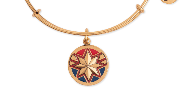 Heroic New Captain Marvel Bangle From Alex and Ani 1