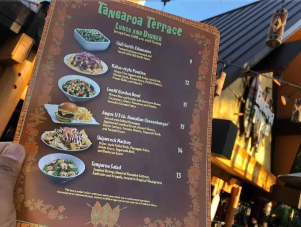 Tangaroa Terrace at the Disneyland Hotel is Open 4