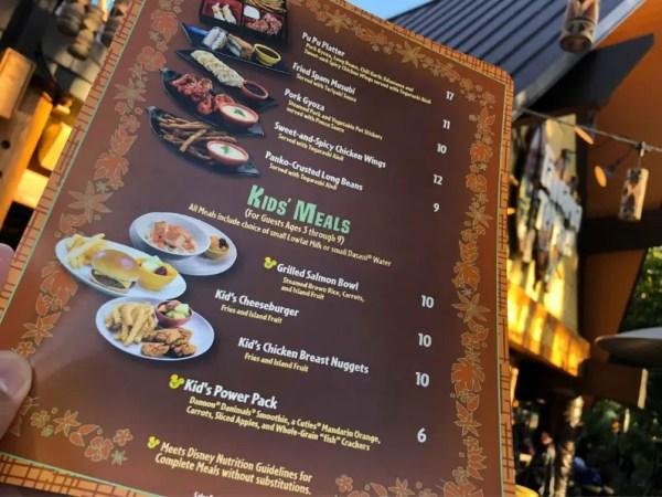 Tangaroa Terrace at the Disneyland Hotel is Open 5
