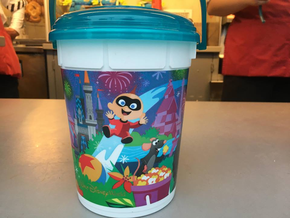 New Pixar Inspired Popcorn Bucket At Hollywood Studios