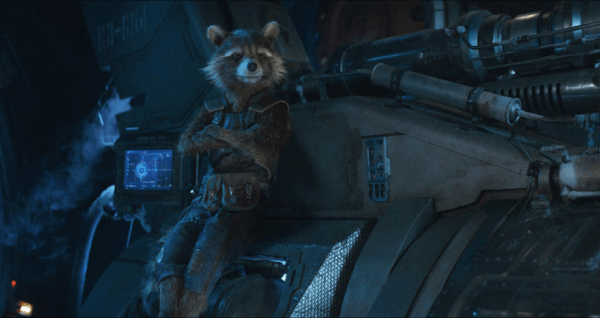 Oreo the Raccoon from Guardians of the Galaxy Passed Away 1