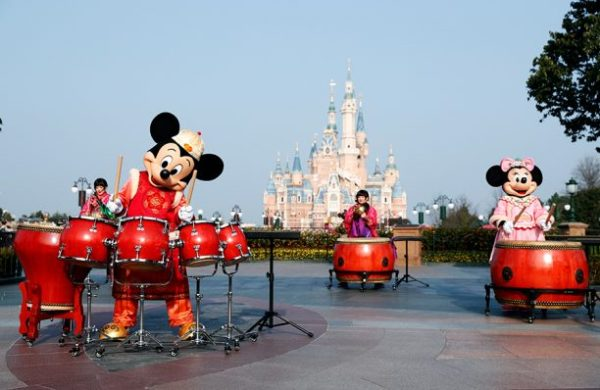 Shanghai Disney Chinese New Year