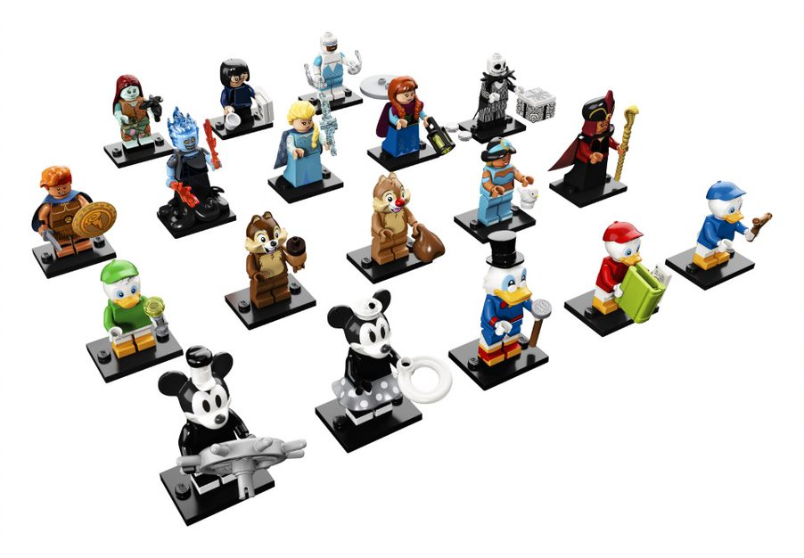 New Disney LEGO Minifigures Hitting The Shelves This May