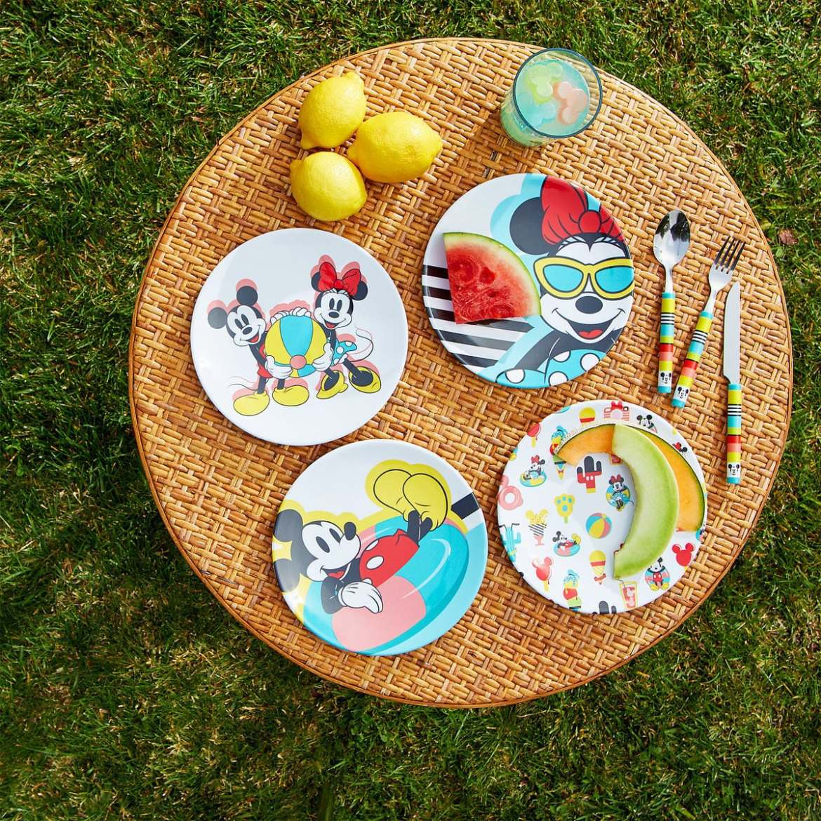 Colorful New Disney Eats Collection Is Perfect For Outdoor Entertaining