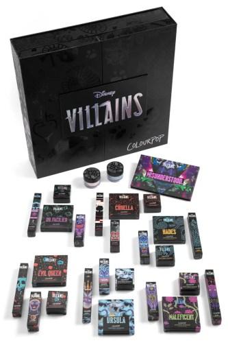 Wicked New Disney Villains Colourpop Collection 2