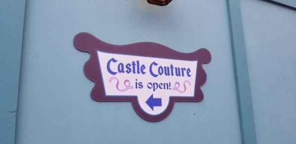 Castle Couture Construction Update