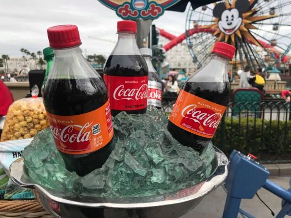 Orange Vanilla Coca Cola Spotted at California Adventure