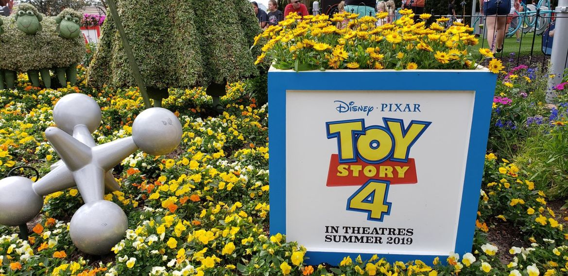 Toy Story 4 Playground at Epcot International Flower and Garden Festival