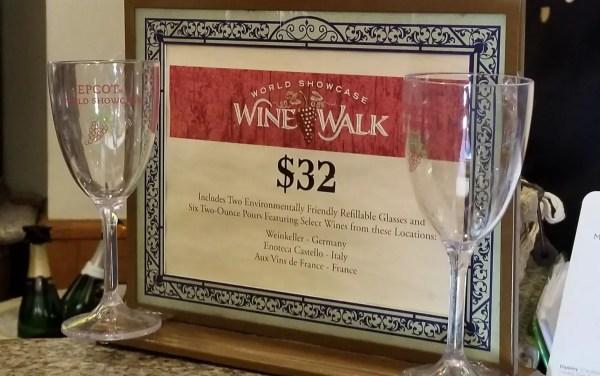 World Showcase Wine Walk Returns to Epcot 2