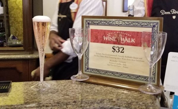 Wine Walk Returns to Epcot