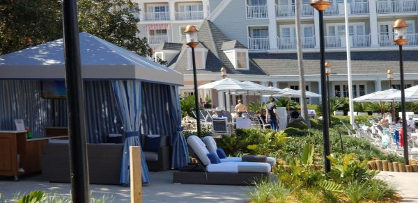 Poolside Cabanas Now at Yacht & Beach Club Resorts 1