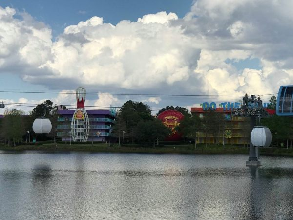 New Video and Pictures of the Disney Skyliner! 3