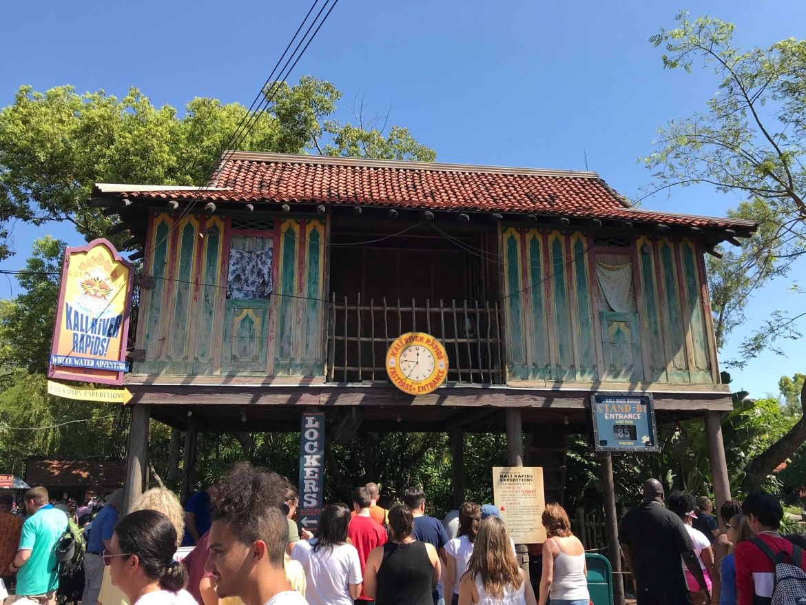 Kali River Rapids! Reopens at Disney's Animal Kingdom Theme Park