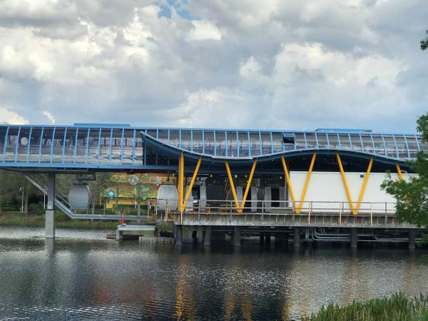 New Video and Pictures of the Disney Skyliner! 1